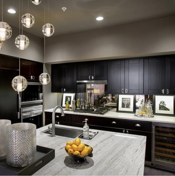 Espresso Shaker Kitchen Cabinets,Solid Wood RTA Cabinets